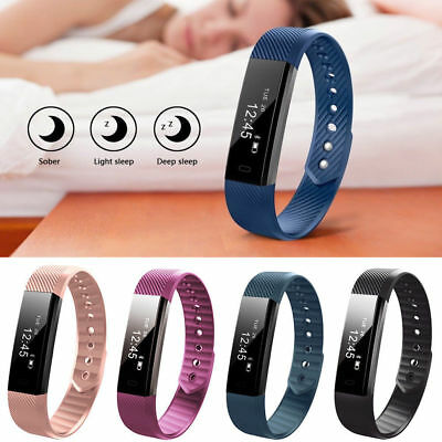 Fitness Smart Watch Band Activity Tracker For Kids Boy Girl Fit bit Android iOS