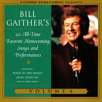 Bill Gaither's Favorite Homecoming Songs and Performances - Vol. 4 CD 2003 *NEW*