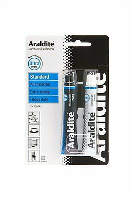 Araldite Quality - Strong sticky glue - 2 x 15ml Tubes