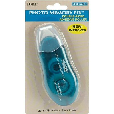 """Photo Memory Fix Removable Adhesive Roller-.25""""x26'"""