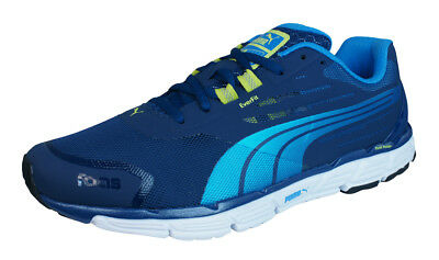 7df84f3e1fbae7 Puma Faas 500 S v2 Mens Running Sneakers Fitness Shoes - Blue