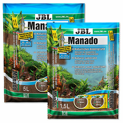 JBL Manado Natural Substrate Plant Growth Granule Root Soil Aquarium Fish Tank