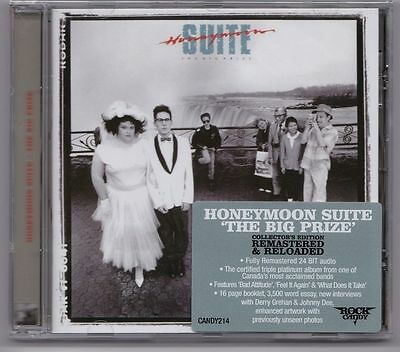 Honeymoon Suite 'the Big Prize' 2013 Remastered Rock Candy New! Sealed!