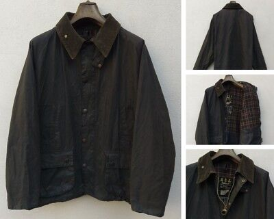 Giacca BARBOUR BEDALE Giubbotto Impermeabile Cerato Verde Oliva Wax jacket  C50 fa0d2db32782
