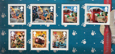 2010 Wallace And Gromit Umm/mnh Below Face Value Just Stamps