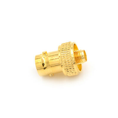 BNC-K to SMA-K RF adapter connector BNC female to SMA female jack Gold-plated O*