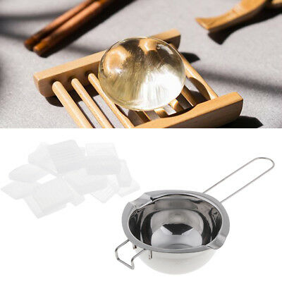 1kg Soap Base Stainless Steel Candle Wax Melting Pot for Candle Soap Making