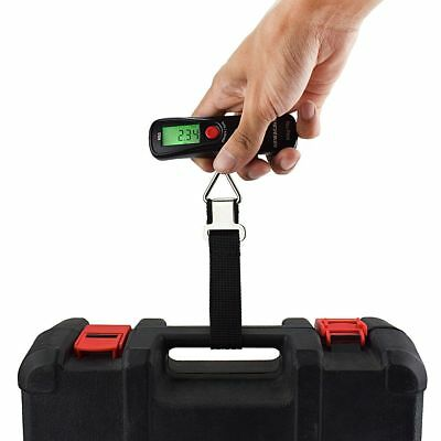 Electronic Luggage Scale 50kg / 110lb Weight LCD Digital Hanging Portable Travel
