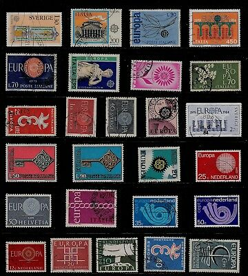 EUROPA Thematic STAMP Collection USED Ref:TS935