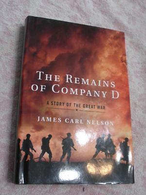 The remains of company D WW1 Book