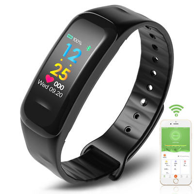 Smartwatch Impermeable Reloj inteligente Fitness Tracker C18 Android IOS iphone