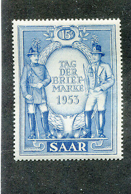 erman,Germany,Stamps. French Saar # 247   M/N/H    No Faults