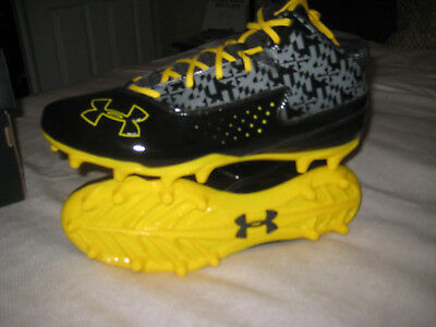 Under Armour Maryland lacrosse cleats Ripshot mid MC sz 10.5 NEW