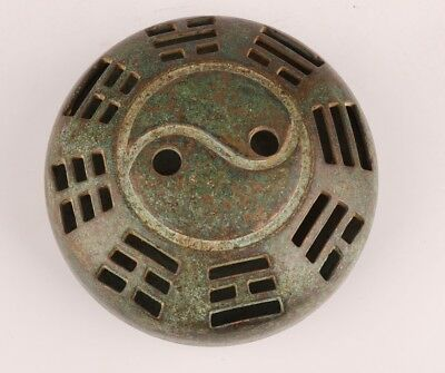 Buddhist Chinese Bronze Statues Incense Burner Spiritual Beliefs Home Collection