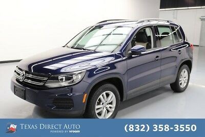 2016 Volkswagen Tiguan AWD 2.0T S 4Motion 4dr SUV Texas Direct Auto 2016 AWD 2.0T S 4Motion 4dr SUV Used Turbo 2L I4 16V Automatic