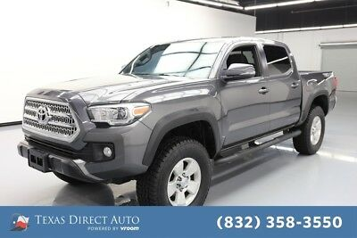 2016 Toyota Tacoma 4x4 TRD Off-Road 4dr Double Cab 5.0 ft SB 6A Texas Direct Auto 2016 4x4 TRD Off-Road 4dr Double Cab 5.0 ft SB 6A Used 3.5L V6