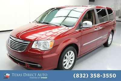 2016 Chrysler Town & Country Limited Platinum Texas Direct Auto 2016 Limited Platinum Used 3.6L V6 24V Automatic FWD