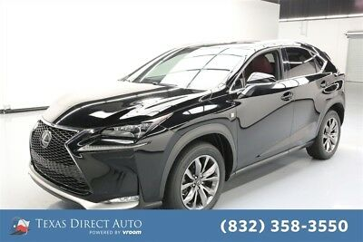 2016 Lexus NX F SPORT 4dr Crossover Texas Direct Auto 2016 F SPORT 4dr Crossover Used Turbo 2L I4 16V Automatic FWD