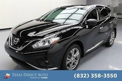 2016 Nissan Murano Platinum Texas Direct Auto 2016 Platinum Used 3.5L V6 24V Automatic FWD SUV Moonroof Bose