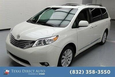 2015 Toyota Sienna AWD Limited 7-Passenger 4dr Mini-Van Texas Direct Auto 2015 AWD Limited 7-Passenger 4dr Mini-Van Used 3.5L V6 24V