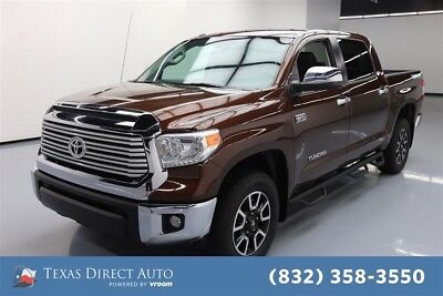 2017 Toyota Tundra Limited Texas Direct Auto 2017 Limited Used 5.7L V8 32V Automatic 4WD Pickup Truck