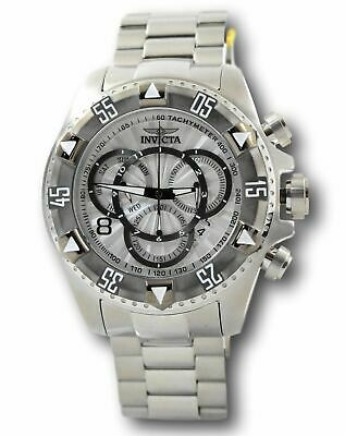 Invicta Excursion 24262 Men's Silver Dial Swiss Chronograph Watch 52 mm
