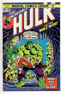Incredible Hulk Vol 1 No 189 Jul 1975 (VFN+) (8.5) Marvel,Bronze Age (1970-1979)