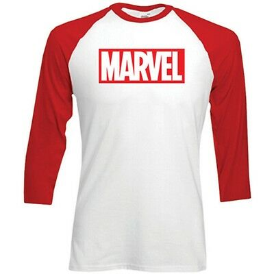Langärmeliges T-shirt Für Erwachsene - XL Adults Marvel Long Sleeved Tshirt