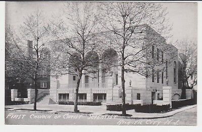 FIRST CHURCH OF CHRIST SCIENTIST - ATLANTIC CITY, N.J. - circa 1940's Postcard