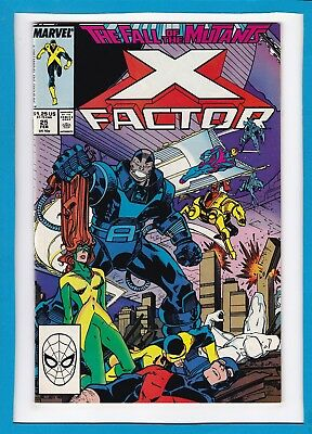 X-FACTOR #25_FEB 1988_NM MINUS_2nd APPEARANCE OF ARCHANGEL_DOUBLE-SIZED ISSUE!