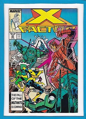 X-FACTOR #23_DEC 1987_VERY FINE+_1st BRIEF APPEARANCE OF ARCHANGEL_APOCALYPSE!