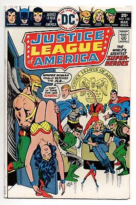 Justice League of America Vol 1 No 128 Mar 1976 (FN/VFN) (7.0) DC, Bronze Age