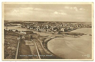 Caithness postcard Thurso from the Castle Tower