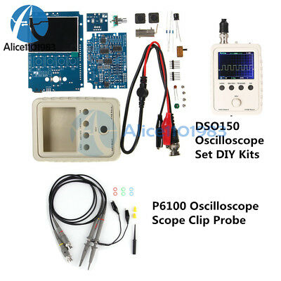 Digital DS0150 15001K DSO-SHELL Electronic Oscilloscope Set With Housing DIY Kit