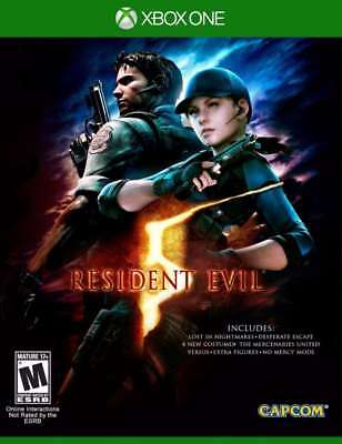 Resident Evil 5 HD Xbox One New XBOX ONE