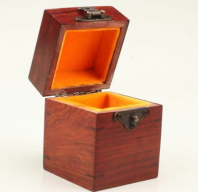 Rare Wood Unique Hand-Carved Box Collection Gift Box Jewelry Box