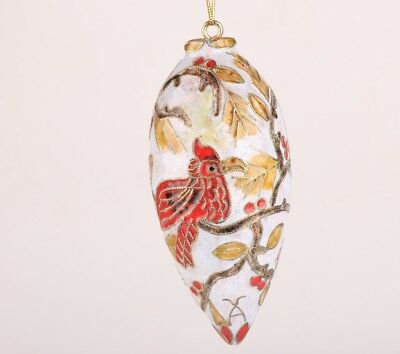 Rare Old Hand-Carved Christmas Decorative Ball Pendant Gift
