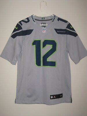 NIKE NEW 12TH FAN Seattle Seahawks NFL Jersey NWT MSRP  100 Mens ... ae17a4cfc