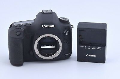 Canon EOS 5D Mark III 22.3MP Full Frame DSLR Camera Body >1200 Low Shutter Count