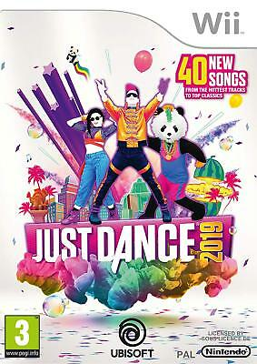 Nintendo Wii Game Just Dance 2019 19 with 40 New Songs New