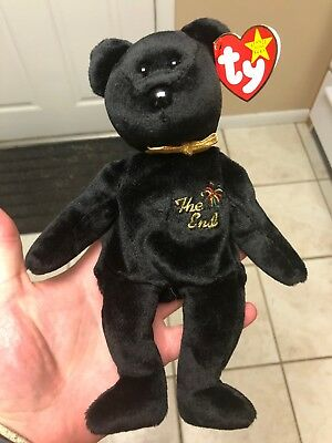 "Ty Beanie Baby ""The End"" With Tag Errors"