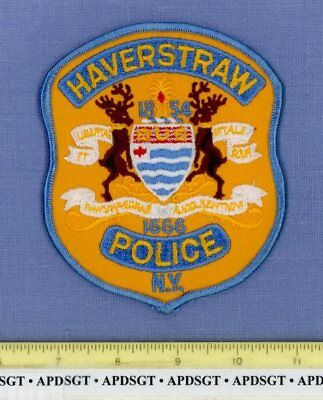 HAVERSTRAW NEW YORK Sheriff Police Patch RIVER WAVES DEER