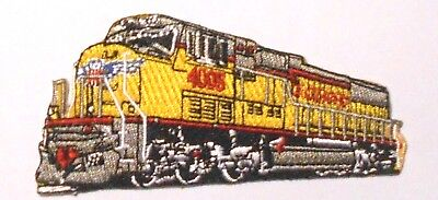 """Union Pacific  RR Embroidered Patch Diesel Train Railroad Railway 3-7/8"""""""