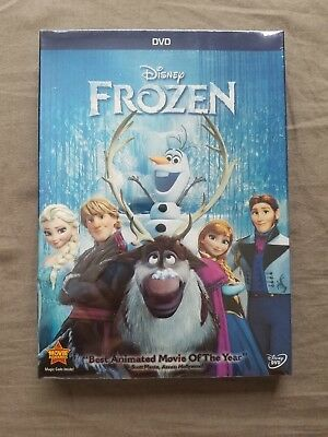Frozen (DVD, 2014) New Sealed USA Free Shipping!