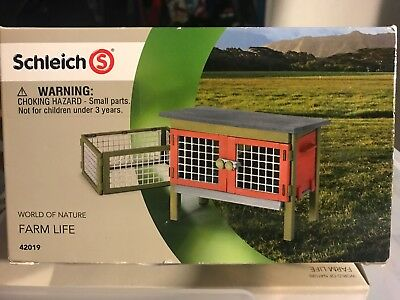 Schleich Rabbit Hutch NIB