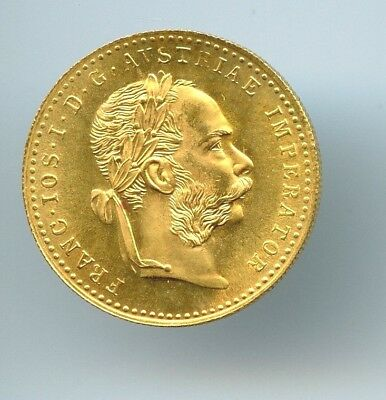 1915 Austria Ducat BU GOLD!! Nice Coin and Nice piece of gold!! .1107 AGW!