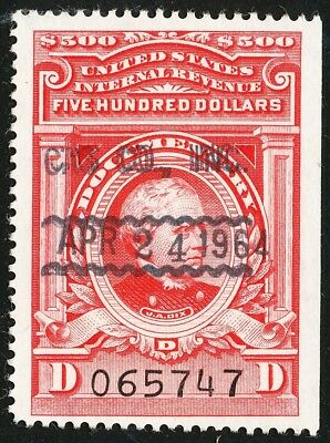 Dr Jim Stamps Us Scott R683 $500 Documentary Used No Reserve Free Shipping