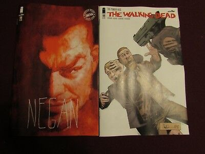 The Walking Dead #186 Lot of 2 (Standard & 15th Anniversary Variant)