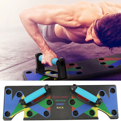 Push Up Rack Board Fitness Exercise Workout Push-up Stand Body Training Gym Gift