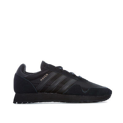 Mens adidas Originals Haven Trainers In Black
